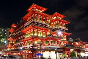 Du lịch singapore thăm chùa răng phật
