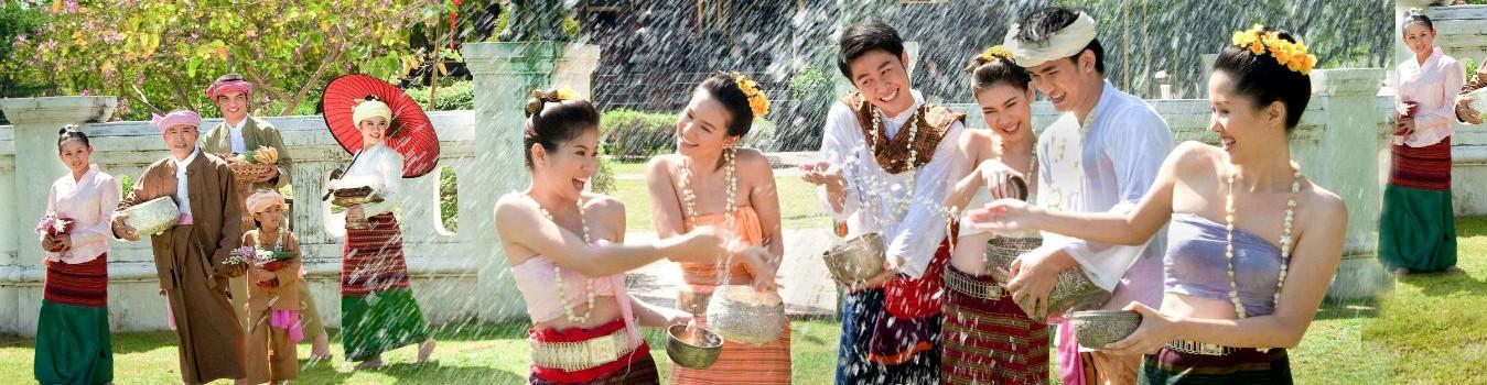 Du lịch Thái Lan lễ hội té nước