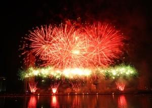 Giá vevs xem pháo hoa Đà Nắng