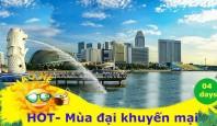 du lịch SIngapore siêu khuyến mại 04 ngày
