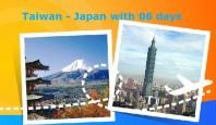Du lịch Đài Loan -Nhật Bản 06 ngày tù Hồ Chí Minh