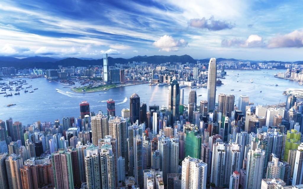Toàn cảnh Hong Kong trên cao, du lịch hong kong, du lịch trung quốc, du lich châu á, tour hồng kong, disneyland hong kong, đại lộ ngôi sao