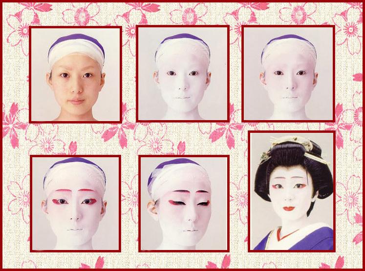 Cách trang điểm tiêu chuẩn của một Geisha, du lịch nhật bản, du lịch nhật, tour nhật, tour nhật bản, du lịch hè, tour nước ngoài, tour châu á