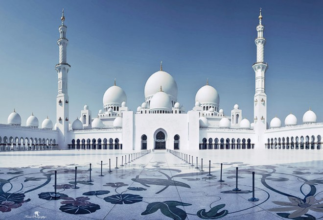 dubai 2 Thánh đường Sheikh Zayed