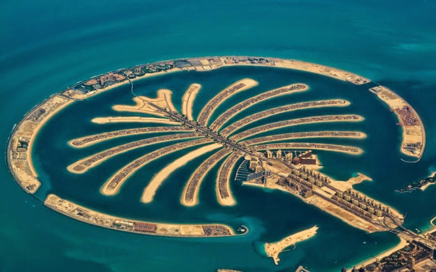 dubai 3 Quần đảo Palm Jumeirah -