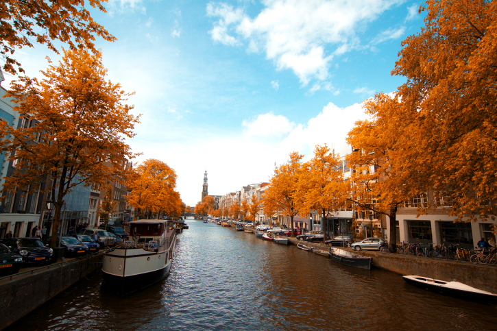 Amsterdam autumn.