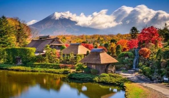 Du lịch nhật bản mùa thu lá đỏ