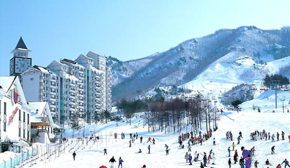 Trượt tuyết Elysian du lịch Hàn Quốc