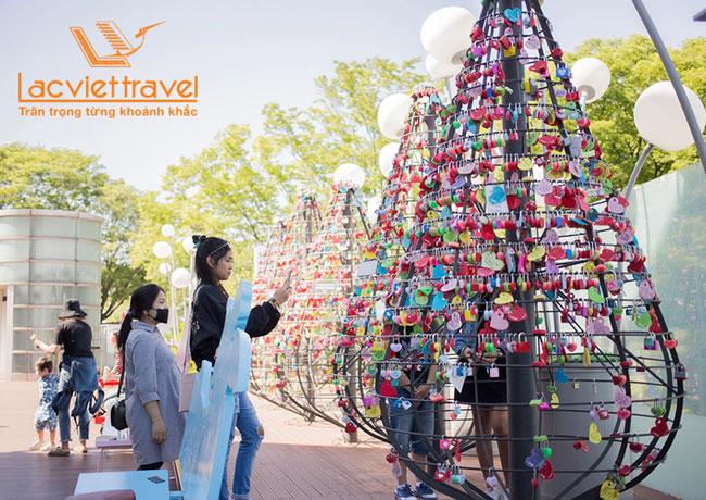 tháp truyền hình Namsan Hàn Quốc