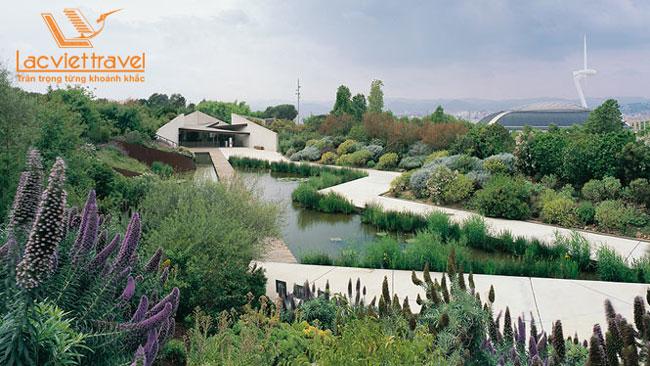 jardi botanic barcelona