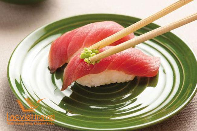 ăn sushi nhật bản đúng cách