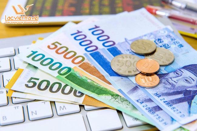 Tìm hiểu về tiền khi đi du lịch Hàn Quốc