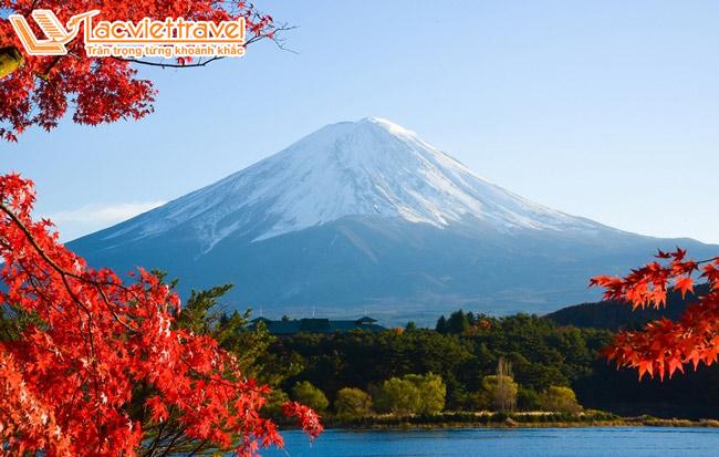 Núi Phú Sỹ mùa thu