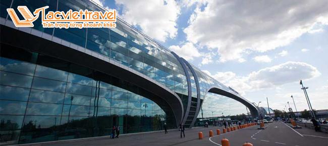 sân bay Domodedovo, Moscow