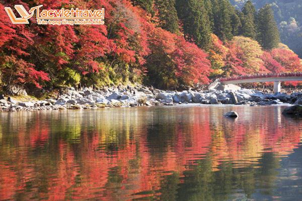 Du lịch Nhật Bản 6 ngày chớ quên ngắm lá đỏ tại thiên đường mùa thu Korankei