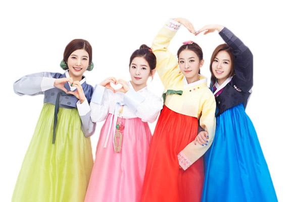 mặc Hanbok Hàn Quốc