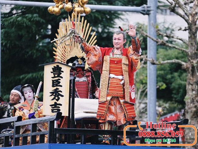 Tour Du Lịch Nhật Bản – Tham gia lễ hội Nagoya tôn vinh 3 anh hùng Samurai vĩ đại