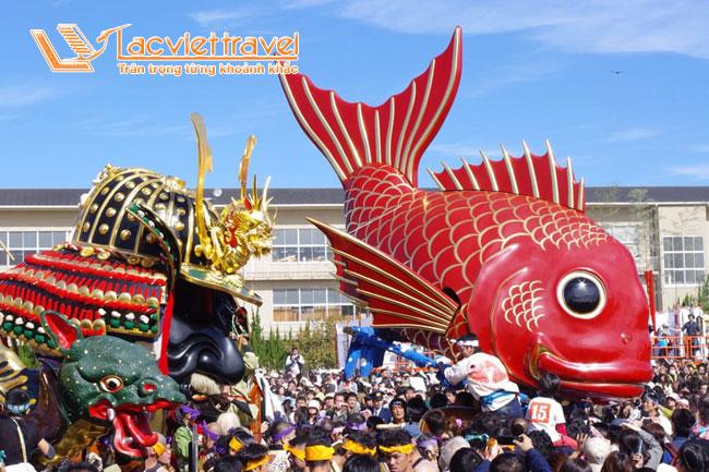 Lễ hội Karatsu Kunchi – sự lựa chọn hoàn hảo khi du lịch Nhật Bản