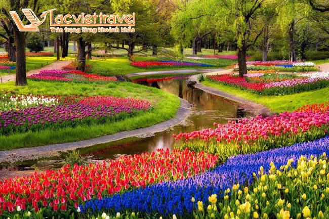 công viên hoa Showa Kinen