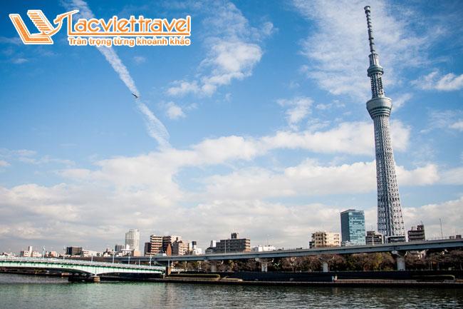 """Tháp truyền hình """"Tokyo Skytree"""""""
