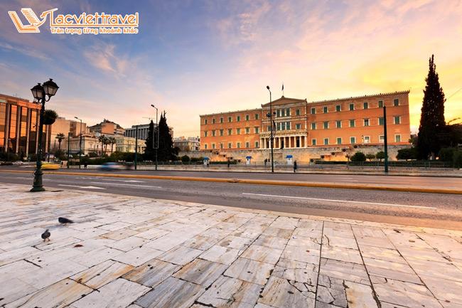 Syntagma - Khám phá Athens - Du lịch Hy Lạp