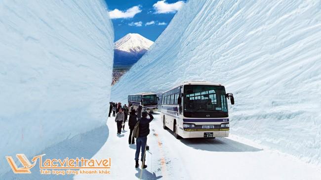 Cung đường tuyết Nhật Bản