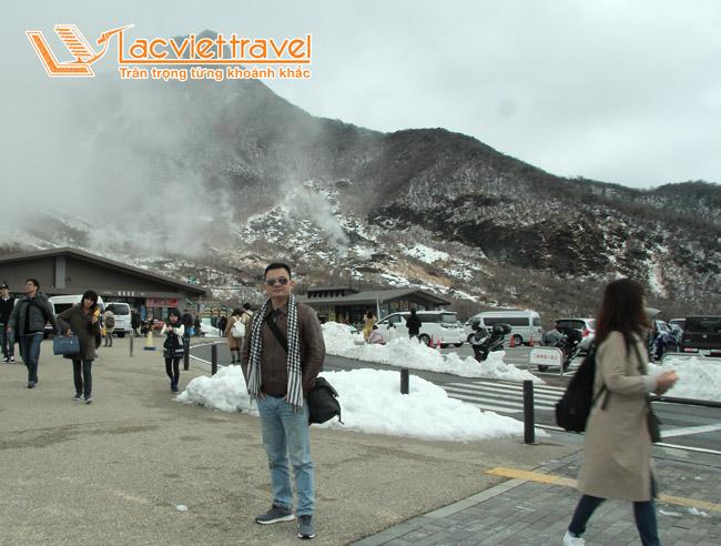 Du lịch Nhật Bản - thung lũng Owakudani