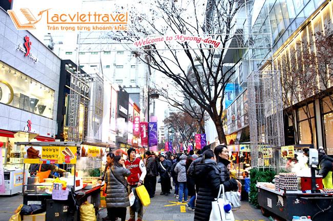 Du lịch Hàn Quốc mùa gì làm quà