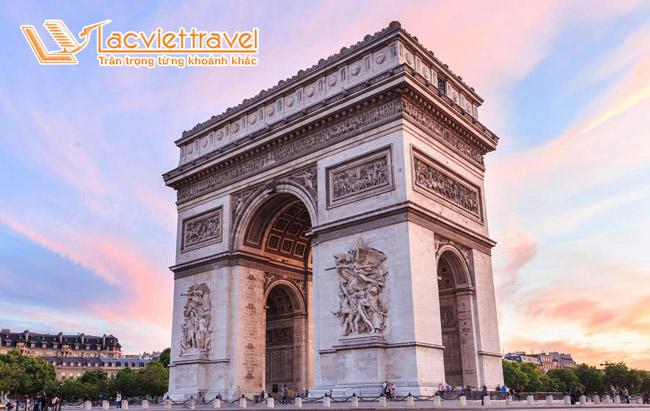 Khải hoàn môn - Du lịch Tây Âu