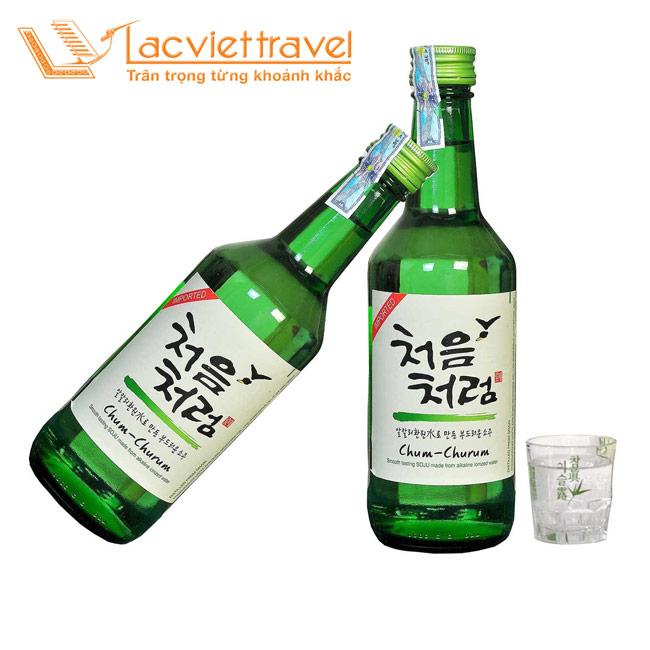 Rượu Soju món quà không thể thiếu