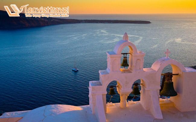 Tour du lịch Santorini
