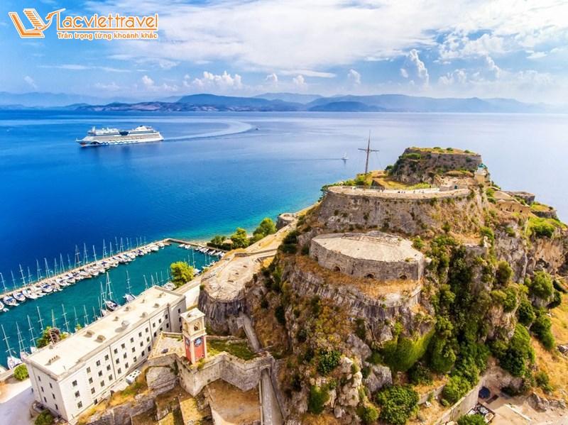 đảo Corfu - Hy Lạp