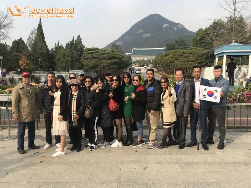 Nhà Xanh Phủ Tổng Thống Hàn Quốc