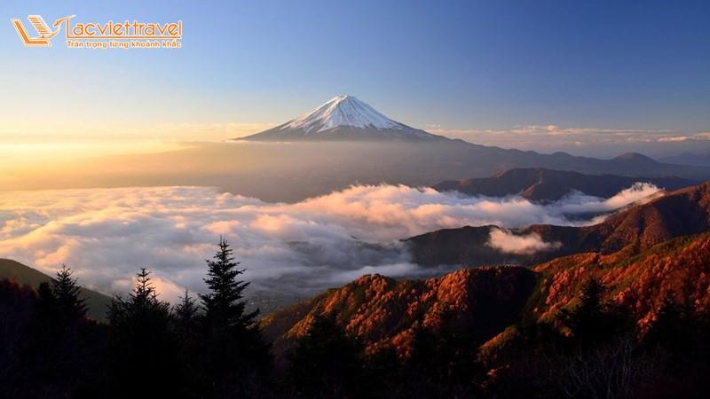 Núi Phú Sĩ - top 5 địa điểm du lịch ở Nhật Bản