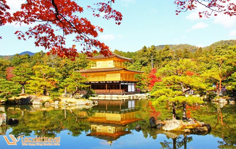 Đền Kinkaku-ji - top 5 địa điểm du lịch ở Nhật Bản