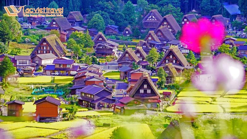 Shirakawa-Go và Gokayama - top 5 địa điểm du lịch ở Nhật Bản
