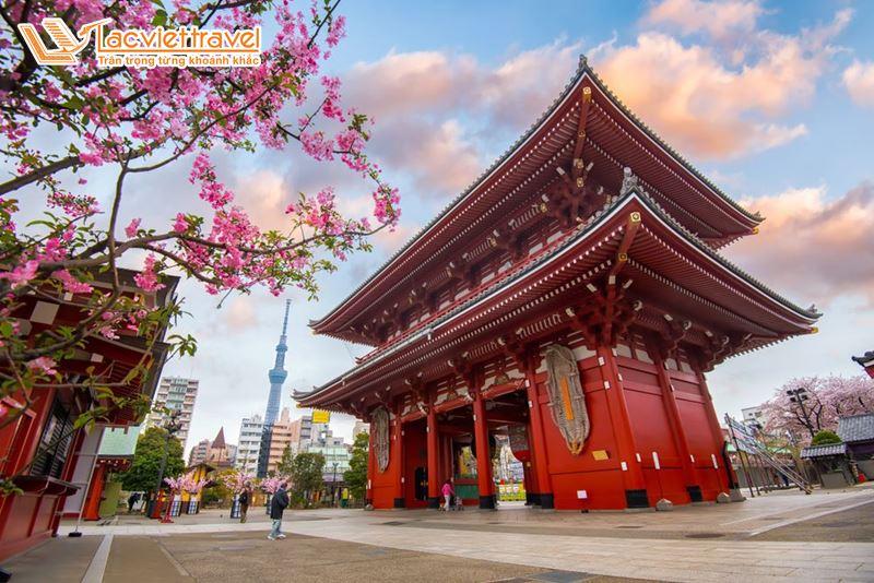 Du lịch Nhật Bản Tết Nguyên Đán - Asakusa Kannon