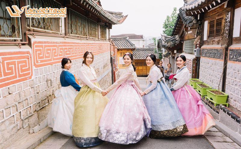 hanbok trang phục truyền thống Hàn Quốc