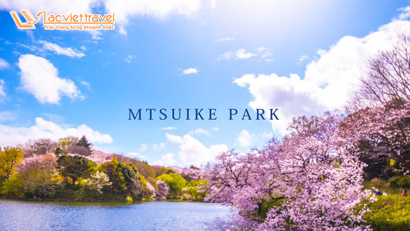 Công viên Mitsuike thơ mộng