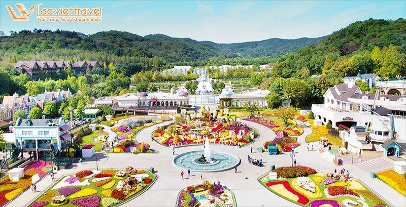 Du lịch Hàn Quốc công viên Ever Land