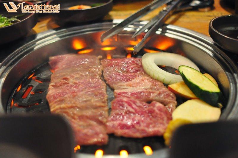 ẩm thực hàn quốc mùa đông bbq thịt nướng hàn quốc