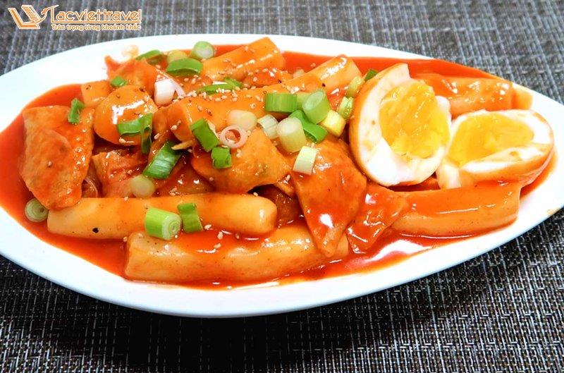 Du lịch Hàn Quốc Ẩm thực Hàn Quốc streetfood hàn quốc tteokbokki tokbokki