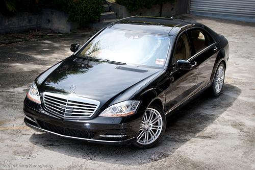 Thuê xe 04 chỗ: MERCEDES S500 giá ưu đãi