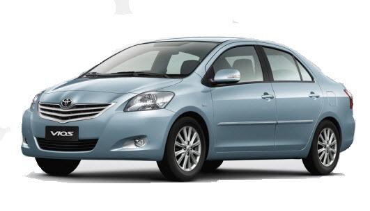 Thuê xe 04 chỗ: Toyota vios giá rẻ nhất Hà Nội